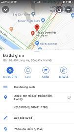 hướng dẫn cách lấy tọa độ trên google map