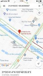 Cách nhập tọa độ vào google map