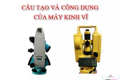 Giới thiệu Cấu tạo và công dụng của máy kinh vĩ