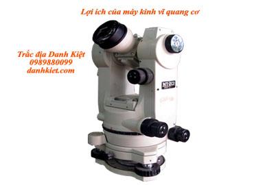 Lợi ích của máy kinh vĩ quang cơ trong đo đạc