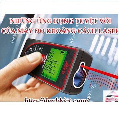 Những ứng dụng tuyệt vời của máy đo khoảng cách laser trong đo đạc Xây Dựng