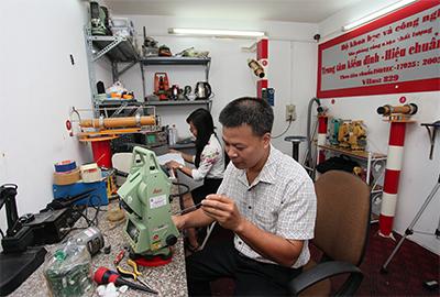 dịch vụ sửa chữa máy toàn đạc điện tử ở đâu uy tín nhất