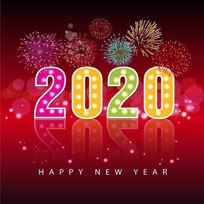 Thư chúc tết và thông báo nghỉ tết 2020