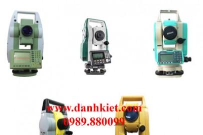 Hướng dẫn cách sử dụng máy toàn đạc điện tử Nikon Topcon Sokkia Leica Geomax