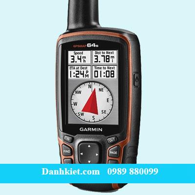 Máy định vị GPS cầm tay Garmin GPS 64S_Trắc địa Danh Kiệt