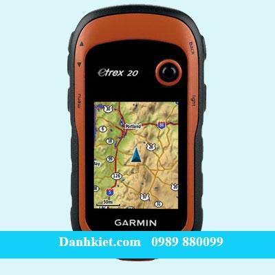 Máy định vị GPS cầm tay Garmin GPS eTrex 20