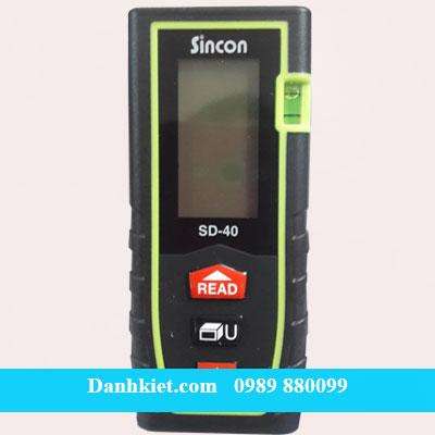 Máy đo khoảng cách laser sicon SD 40 (40m) giá bán tốt nhất