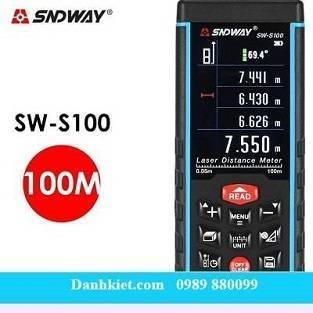 Máy đo khoảng cách laser SNDWAY 100M