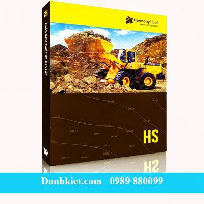 Phần mềm thiết kế đào đắp HS (Chạy trong AutoCAD 2005)