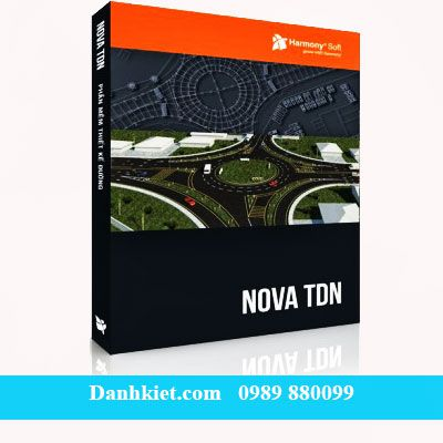 Phần mềm thiết kế đường NOVA-TDN_Trắc địa Danh Kiệt